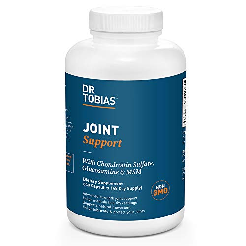 Dr. Tobias Joint Support Supplement, with Chondroitin Sulfate, Glucosamine and MSM, 240 Capsules