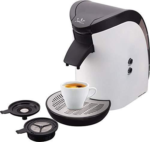 Jata CA569 Cafetera Monodosis de 60 mm Para cafés y infusiones Filtro fácil Accesorios Extraíbles Fácil limpieza Apta...