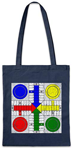 Urban Backwoods Parcheesi Board Shopper Reusable Hipster Shopping Cotton Bag