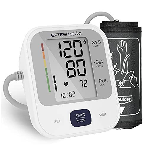 Extremella Blutdruckmessgerät, Oberarm Blutdruckmessung...