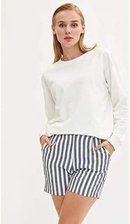Defacto M0021Az Bayan Sweat Shirt Knitted Sweat Shirt 9K