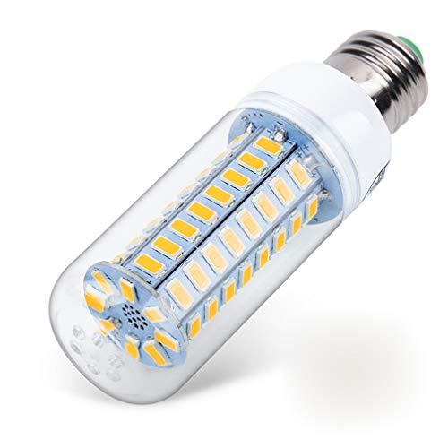 QREZ E27/E14 LED Bombillas Maíz Luz Blanco Cálido/Fria, 3W/4W/5W Equivalentes Incandescente Bombillas 300W Lampara Maíz E27 Led 3000-6000K 800LM No Regulable,E14 Cool White,3W 8pcs