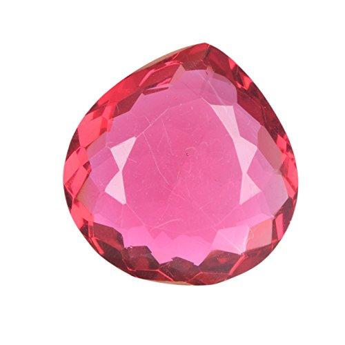 Anello tormalina rosa 72,00 ct. Pietra preziosa allentata DN-591 di pera della tormalina brasiliana