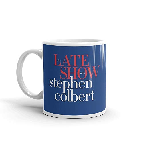 Late show with stephen colbert mug Mug 11 Oz White Ceramic