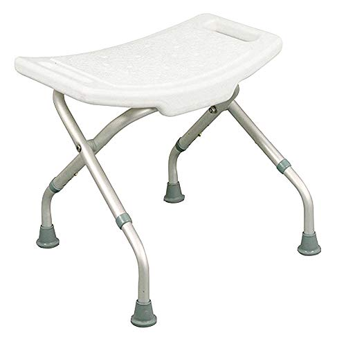 Mobiclinic, Delta, Silla o taburete de baño, de ducha, ortopédica, altura regulable, respaldo, reposabrazos, conteras antideslizantes
