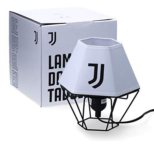 Juventus Lamapada da Tavolo - Altezza 19 cm - Larghezza 17 cm - Metallo e Tessuto - 100% Originale