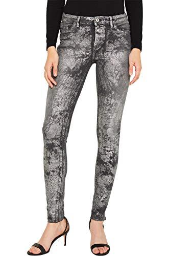 edc by ESPRIT Damen 119CC1B005 Skinny Jeans, Schwarz (Black Medium Wash 912), W31/L32 (Herstellergröße: 31/32)