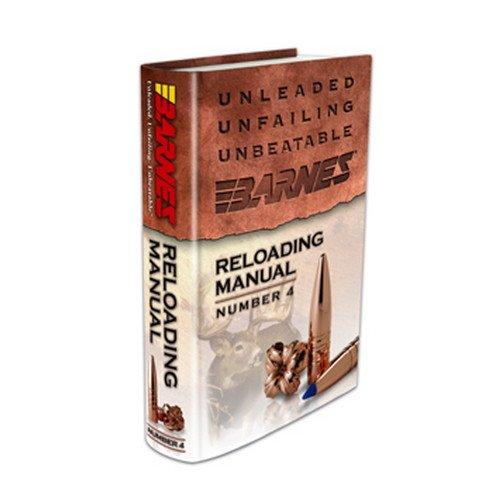 Barnes Bullets 30745 4th Edition Reloading Manual,