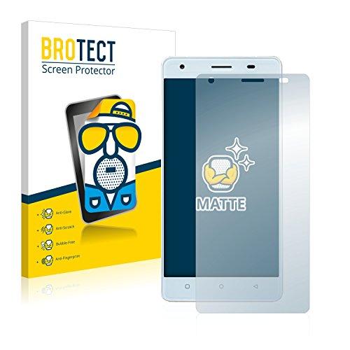 BROTECT 2X Entspiegelungs-Schutzfolie kompatibel mit Oukitel C5 Bildschirmschutz-Folie Matt, Anti-Reflex, Anti-Fingerprint