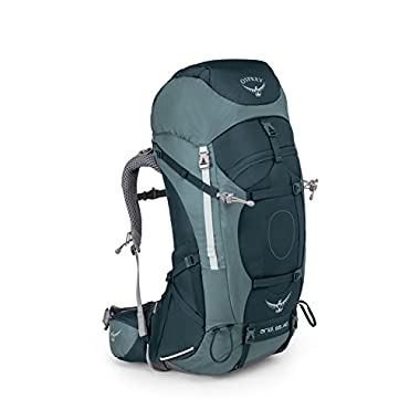 Osprey Packs Women's Ariel AG 65 Backpack, Boothbay Grey, Small