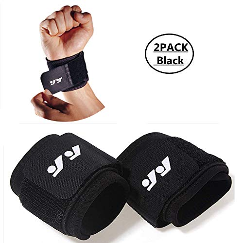 DSTong Handgelenk Bandagen Handgelenk stützung, Handgelenkbandage für Fitness, Bodybuilding, Kraftsport & Crossfit - für Frauen und Männer (Style 2/2pack)