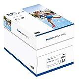 inapa Tecno Colour Print - Papel para impresora láser (200 g/m², A4, 1000 hojas (4 x 250 mm), color blanco