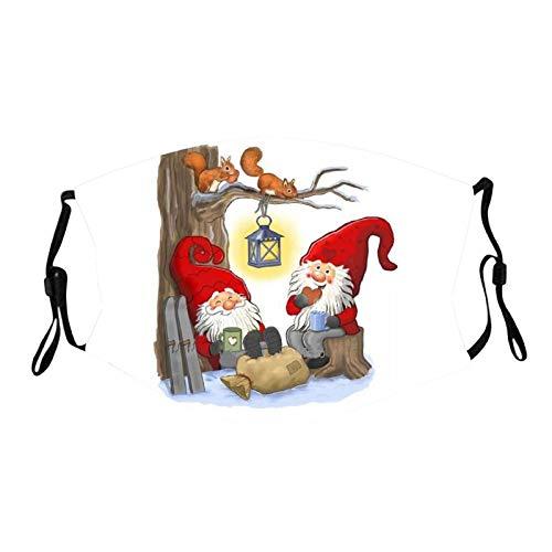 Bluelucon lenceria mujer Toalla navideña Infantil Impresa Lavable y Reutilizable 1PC
