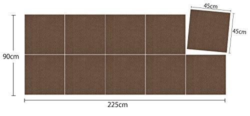 サンコー『ずれないジョイントマット大判45×45cm10枚(KH-15)』