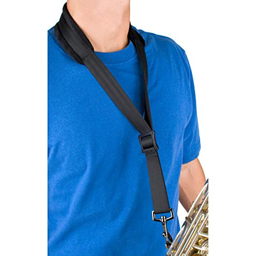 Protec Saxophone Neck Strap with Velour, Regular Size Pad and Metal Swivel Snap (A310M)