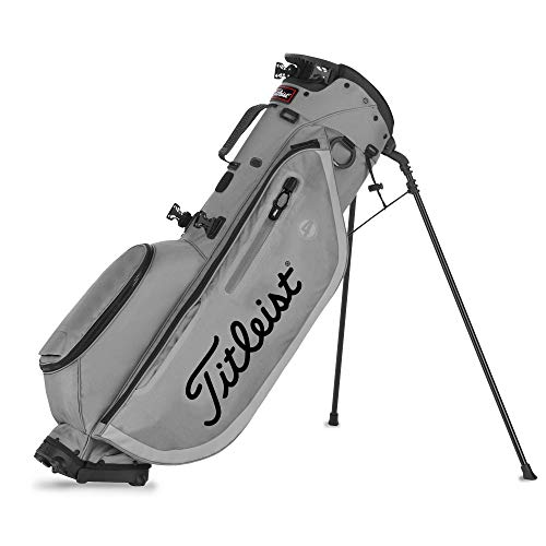 Titleist Players 4 Stand Bag Grey/Grey