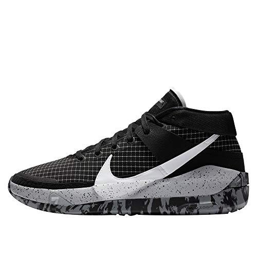 Nike Kd13 Pallacanestro Scarpa Uomini Ci9948-004, nero (nero/bianco/grigio lupo), 44 EU