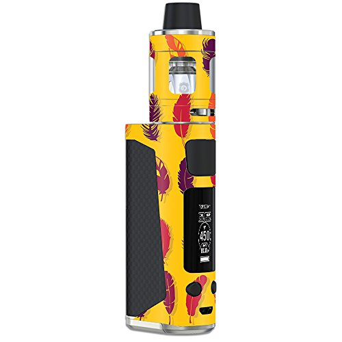 MightySkins Skin Compatible with Joyetech eVic Primo Mini – Feathers | Protective, Durable, and Unique Vinyl Decal wrap Cover | Easy to Apply, Remove, and Change Styles | Made in The USA