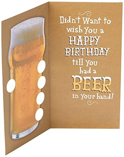 Hallmark Birthday Card 'Beer' - Mediu