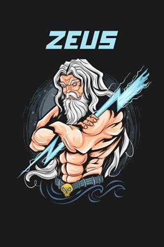 Zeus: Greek Mythology Journal   Zeus God Journal   Gift for Mythology lovers   Notebook, Journal, Diaries