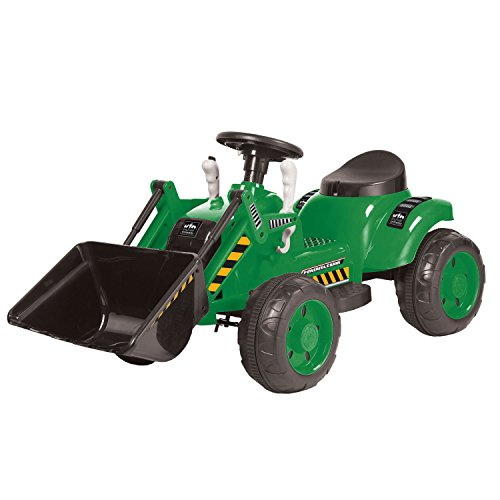 Kid Motorz 6V Tractor Ride On, Yellow