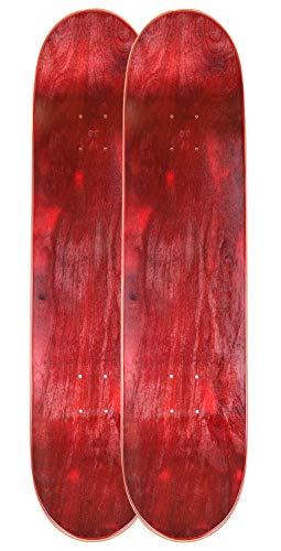 Cal 7 Blank Maple Skateboard Decks | 7.75, 8.0, 8.25 and 8.5 Inch | Two Pack Combinations