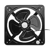 LANDUA Ventilador de Escape de Metal de 12'220 V, Ventilador de conducto de ventilación, Extractor de baño para Sistema de Ventilador de ventilación de Inodoro de Cocina Industrial
