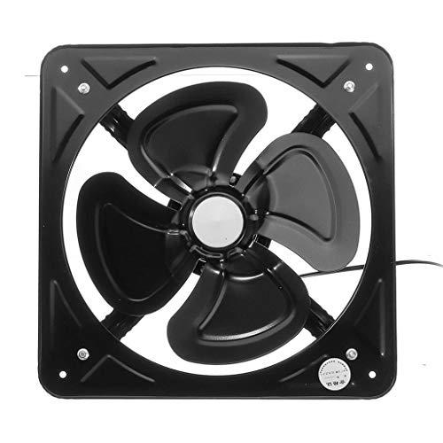 XZJJZ Ventilador de Escape de Metal de 12'220 V, Ventilador de conducto de ventilación, Extractor de baño para Sistema de Ventilador de ventilación de Inodoro de Cocina Industrial