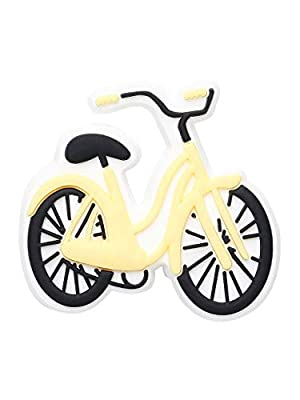 Crocs Sports and Leisure Shoe Charm | Personalize with Jibbitz, Beach Cruiser Bike, Small