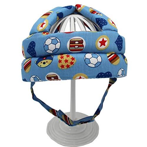 Lewpox Casco de Seguridad para bebés, Sombrero de protección para niños pequeños, Gorra Protectora Ajustable, Sombrero de Cabeza de Seguridad para niños, para Correr, Caminar, arrastrarse