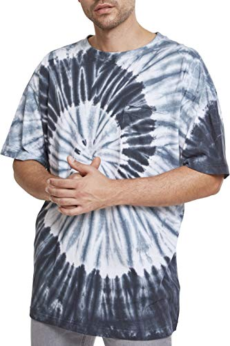 Urban Classics Spiral Tie Dye Pocket tee Camiseta,