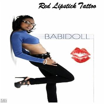 Red Lipstick Tattoo