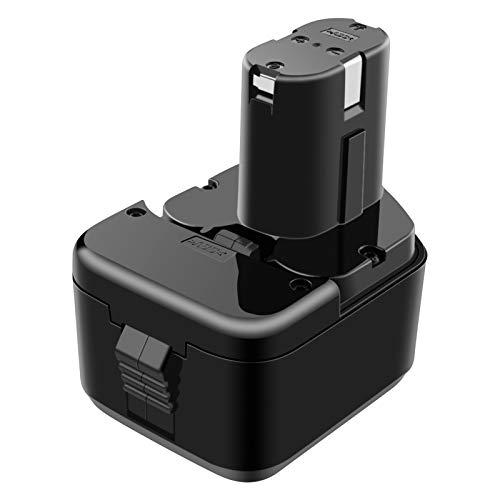 ADVNOVO 12V 3.0Ah Batería De Repuesto Para Herramienta Eléctrica Compatible con HITACHI 12V EB1212S EB1214L EB1214S EB1220BL EB1220HS EB1222HL EB1226HL EB1230HL BCC1212, Batería Ni-MH