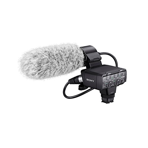 Sony XLR-K2M Adapter Set mit XLR-Box und Richtmikrofon