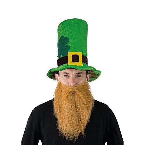 P'tit Clown Chapeau Velours Vert Saint Patrick