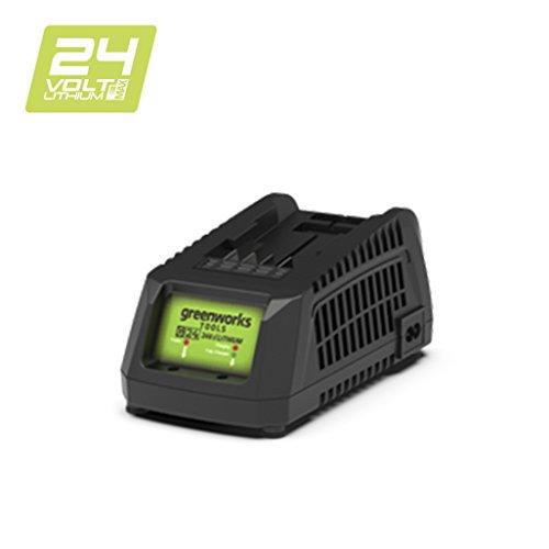 Greenworks Tools Akku-Schnellladegerät G24UC (Li-Ion 24 V 60W Output passend für alle Akkus der 24 V Greenworks Serie)