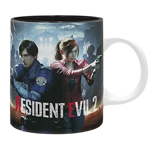 KINGAM - Taza de café de cerámica con diseño de Resident Evil 2, ideal para regalo de cumpleaños