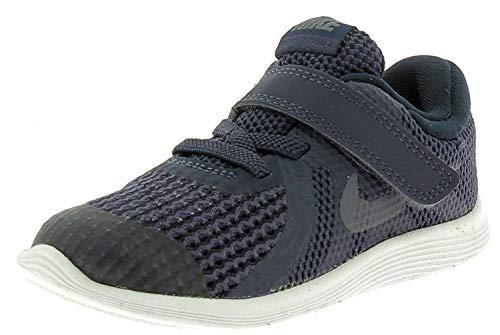 Nike Revolution 4 (TDV), Pantofole Bimbo 0-24, Blu (Neutral Indigo/Light Carbon-Obsidian 501), Numeric_19_Point_5 EU