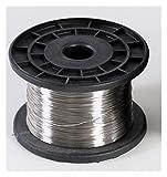 0,1 mm 4 mm - 304 1kg Más Suave Alambre de Acero Inoxidable, Individual y recocido de Alambre de Acero Cuerda De Acero (Size : 0.25MM)