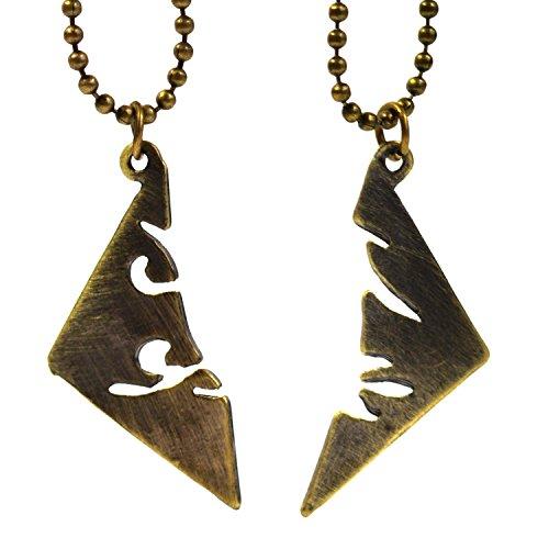 Beaux Bijoux - Juego de collares de Cazadores de Sombras: Ciudad de Hueso