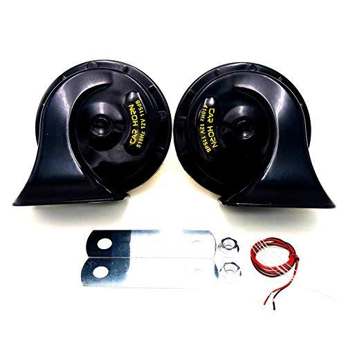 YIYIDA Car Horn Bocina eléctrica para coche Bocina de aire 115DB Bocina...