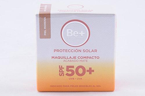 BE+ MAQUILLAJE COMPACTO SPF50+ P/MORENA