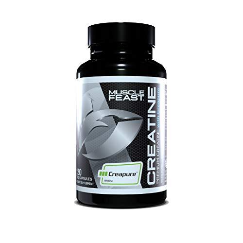 Muscle feast creapure creatine monohydrate capsules image
