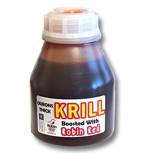 OURONS Krill & Robin Red Boilie Dip Angelköder, flüssiger Glug, 250 ml