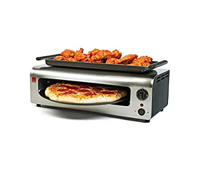 Ronco Pizza & More, Black/Stainless