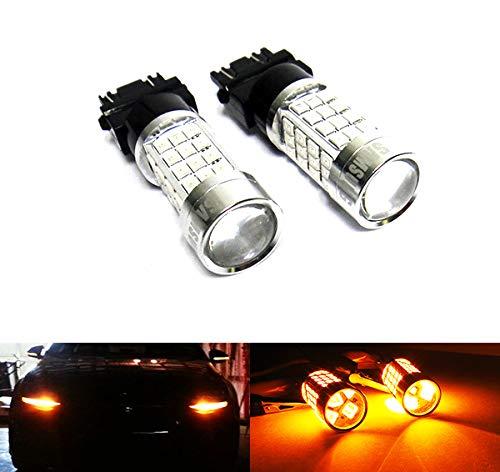 2 x Amber 182 P27W 180 P27/7W PY27/7W Bombilla Samsung LED 40W Luz lateral Indicador de giro de señal de parada de luz diurna DRL