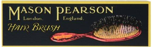 Mason Pearson Brushes Pure Bristle Pocket Sensitive SB4 Black