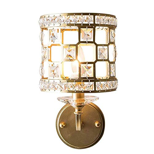 DYXYH Lámpara de Pared - Lámpara de Pared de Cristal, Apliques de Pared de luz Accesorio de iluminación