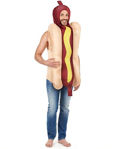 Déguisement hot dog adulte - Taille Unique