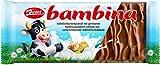 Zetti bambina Vollmilchschokolade mit Haselnuss und Karamell, 24er Pack (24 x 100 g) (Vollmilch, 24 Stück)